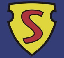 1938 Superman Logo by James Hall