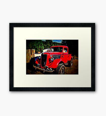 4 Sale 4X4 Classic Roadster Framed Print