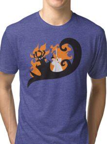 Samurai Jack and Aku Tri-blend T-Shirt