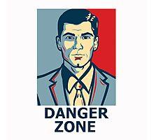 Archer - Sterling Archer - Danger zone Photographic Print