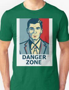 Archer - Sterling Archer - Danger zone Unisex T-Shirt
