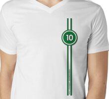 #10 - Kamui Koboyashi (Caterham F1 Team) [B] Mens V-Neck T-Shirt
