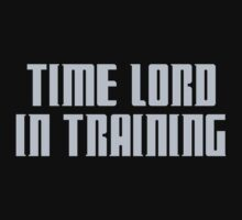 Time Lord in Training Kids Tee