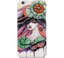 Lily girl iPhone Case/Skin