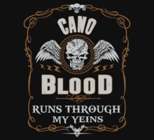 CANO blood runs through your veins by kin-and-ken