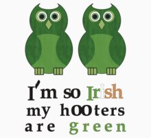 Green Hooters St. Patty's Day Shirt by candyglue07