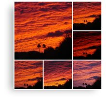 COLLAGE OF EARLY MORNINGS Canvas Print