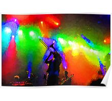 Rainbow Music - Trombone Solo in the Limelight Poster