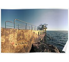 Salthill Diving Board Poster