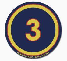#3 - Daniel Ricciardo (Red Bull Racing) by FormulaFans