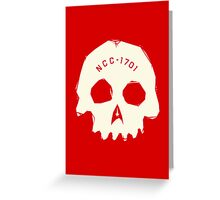 Redshirt Greeting Card
