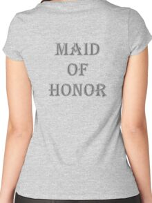 Maid of Honor Women's Fitted Scoop T-Shirt