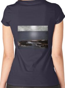 Silvered Sea Women's Fitted Scoop T-Shirt