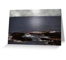 Silvered Sea Greeting Card