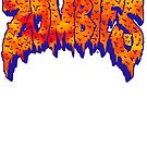 Flatbush Zombies Logo - Orange/Blue by Ben McCarthy