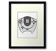 SEGA HAPPY DREAMCAST Framed Print