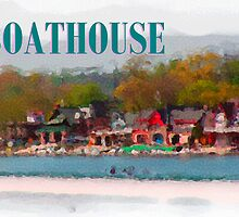 Philadelphia Boathouse by lagmanart