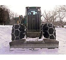 Heavy equipment Photographic Print