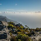 Cape Point from the top of Table Mountain by KarenMcDonald