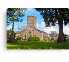 St Mary's (Kirkby Lonsdale) Canvas Print