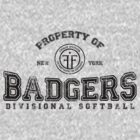 Property of New York Badgers Fringe Divisional Softball by M Dean Jones