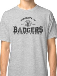 Property of New York Badgers Fringe Divisional Softball Classic T-Shirt