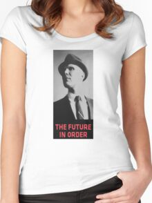 The Future in Order fringe tribute Women's Fitted Scoop T-Shirt