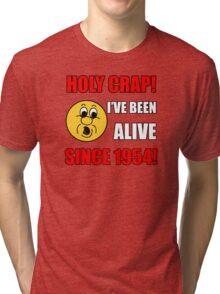 1954 60th Birthday Gag Gift T-Shirt Tri-blend T-Shirt