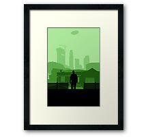 Grand Theft Auto: Franklin Framed Print
