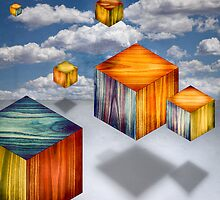 Cubes Aloft Variety by YoPedro