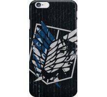 Eren Jaeger Scouting Legion (Attack On Titan) iPhone Case/Skin