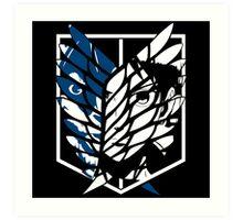 Eren Jaeger Scouting Legion (Attack On Titan) Art Print