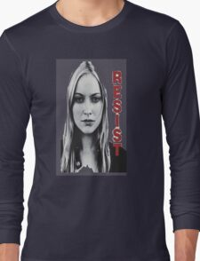 Resist fringe tribute Long Sleeve T-Shirt