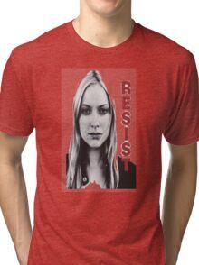 Resist fringe tribute Tri-blend T-Shirt