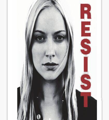 Resist fringe tribute Sticker