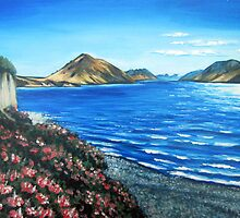 Lake Coleridge, New Zealand by Ira Mitchell-Kirk