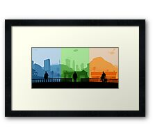 Grand Theft Auto: Trio Framed Print