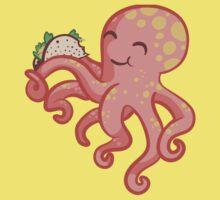 Tako-Taco cute octopus One Piece - Short Sleeve