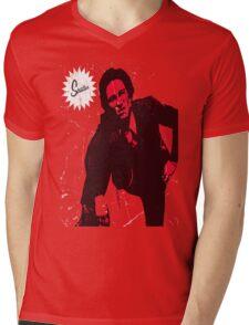 Mike Strutter red  Mens V-Neck T-Shirt