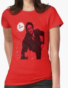 Mike Strutter red  Womens Fitted T-Shirt