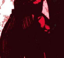 Mike Strutter red  Sticker