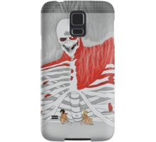 eren protecting his friends Samsung Galaxy Case/Skin
