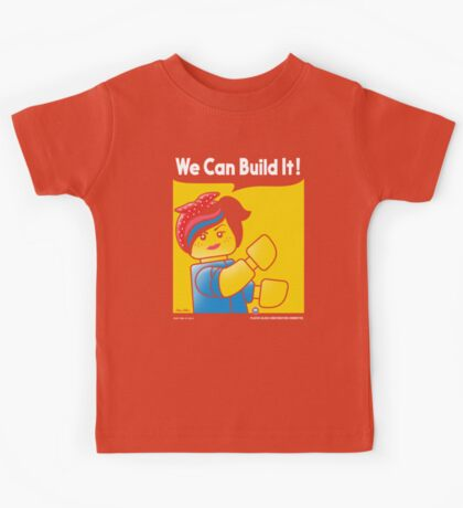 WE CAN BUILD IT! Kids Tee