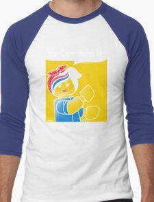 WE CAN BUILD IT! Men's Baseball ¾ T-Shirt