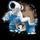 Mega Blastoise Pokemon - Gotta Catch em All by scribbleworx