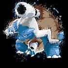 Mega Blastoise Pokemon - Gotta Catch em All by scribbleworx