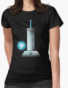 MASTER BUSTER SWORD Womens Fitted T-Shirt