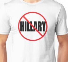 NO HILLARY Unisex T-Shirt