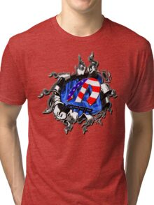 Mopar explosion  Tri-blend T-Shirt