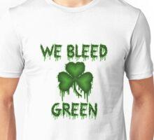 We Bleed Green Irish Shirt Unisex T-Shirt